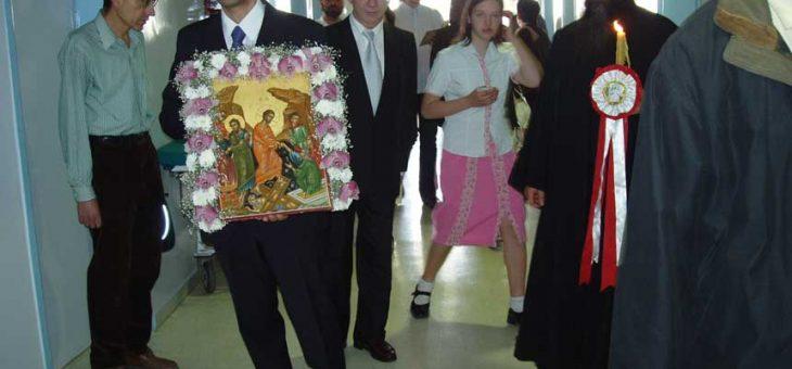 Πάσχα 2005 Ανάσταση και περιφορά της εικόνος